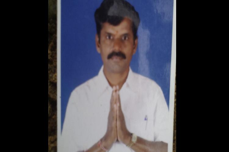 BJP district vice president found dead near his house in Tirupur party leaders say it was murder
