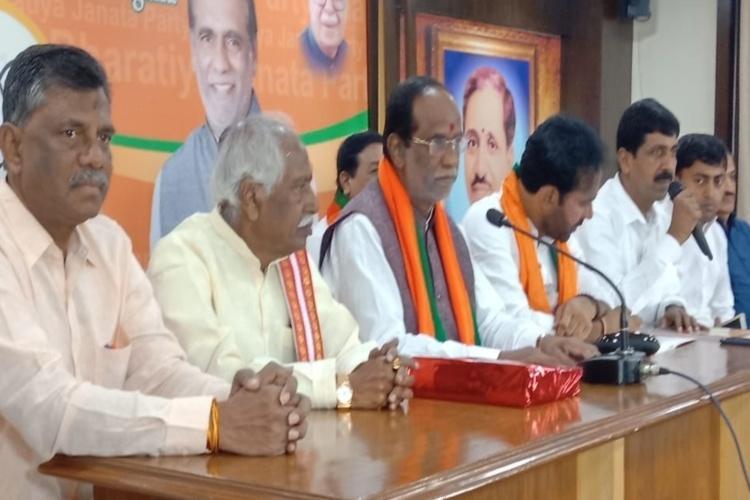 Telangana polls BJP promises 1 lakh cows setting up Gau kendra in its manifesto