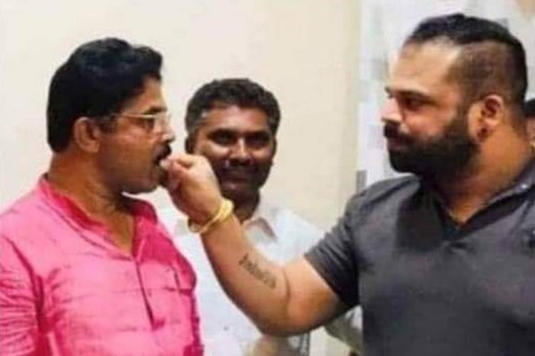 Karnataka Congress targets BJP after pics of Minister with drug case accused surface