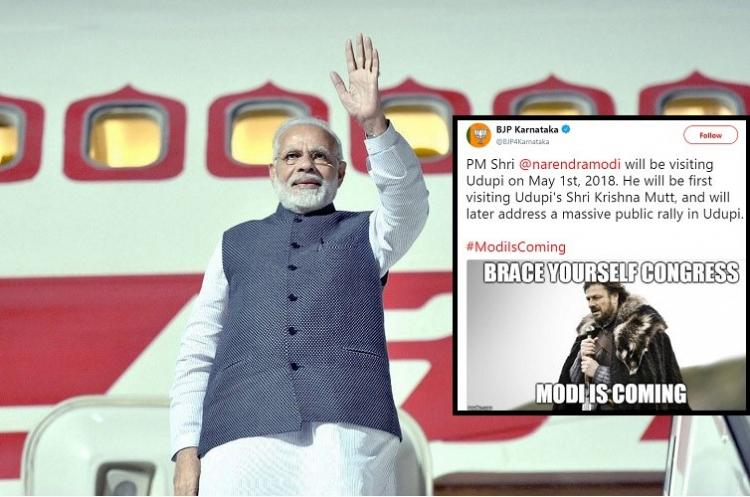 Stark mess In GoT reference Ktaka BJP compares Modi to character who gets killed