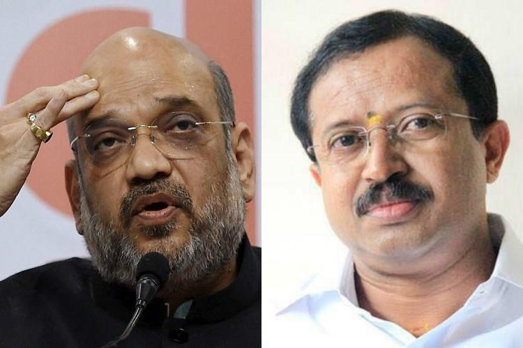 Why Kerala BJP cadre is flooding FB pages of Amit Shah and state leaders