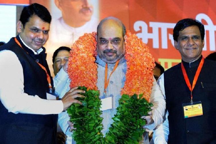 Maha civic polls Sena-BJP tussle in Mumbai BJP gains elsewhere