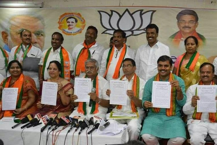 Build Andhras second capital in Rayalaseema BJP hits out at ally TDP