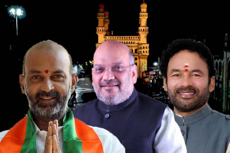 From four seats to 48 How the BJP has grown in the Hyderabad municipal polls