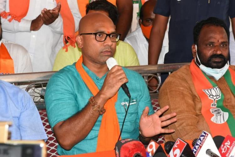 BJP MP D Arvind