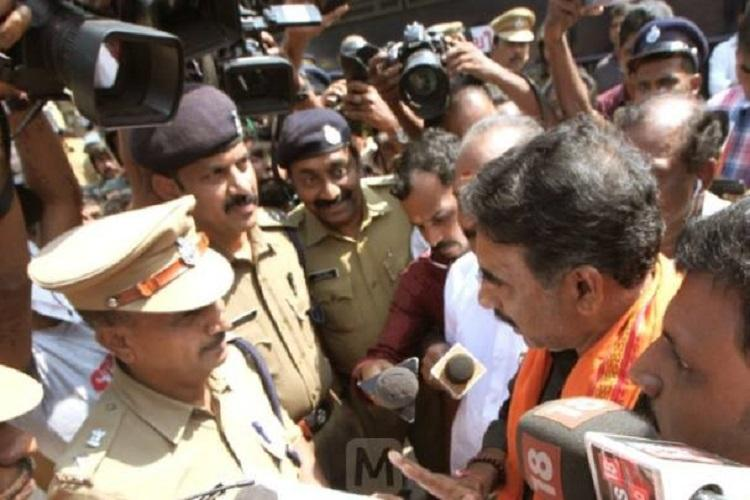 9 BJP leaders held for violating prohibitory orders in Sabarimala granted bail