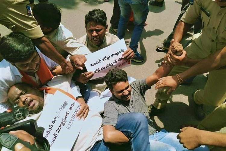 Telangana Inter results Families of students who died by suicide still await justice