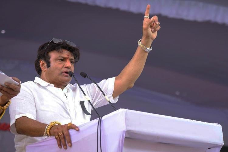 My silence isnt incapability Balakrishna responds after convoy was blocked in Hindupur