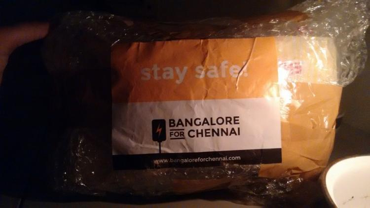 A big thank you to Bengalureans from us Chennaites