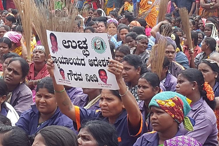 Authorities deaf to sexual harassment claims Bengaluru civic workers to launch protest