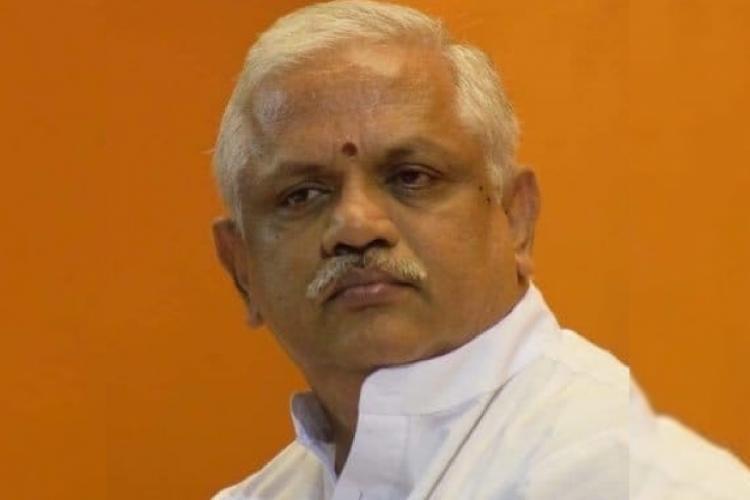 BJP national General Secretary BL Santhosh