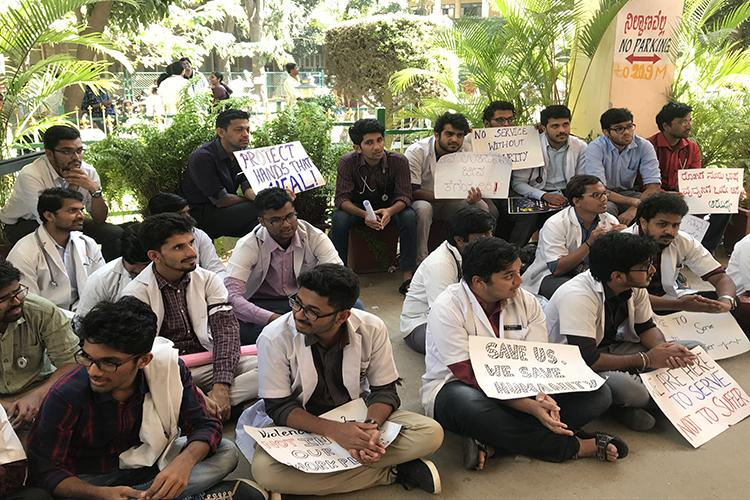 Bengaluru doctor attack 12 pro-Kannada activists who were arrested get bail