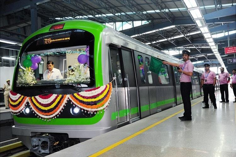 Bengaluru Metros Purple Line coaches doubled to 6