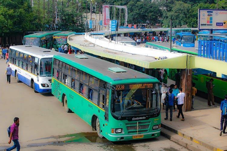 BMTC bus stop in Bengaluru