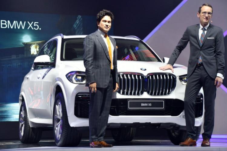 Sachin Tendulkar launches all-new boss of the segment BMW X5