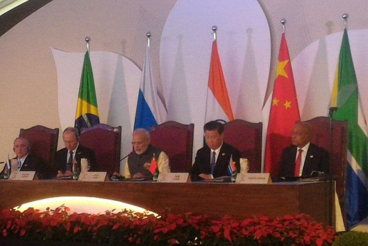 PM Modi says mothership of terrorism is Indias neighbour at BRICS meeeting
