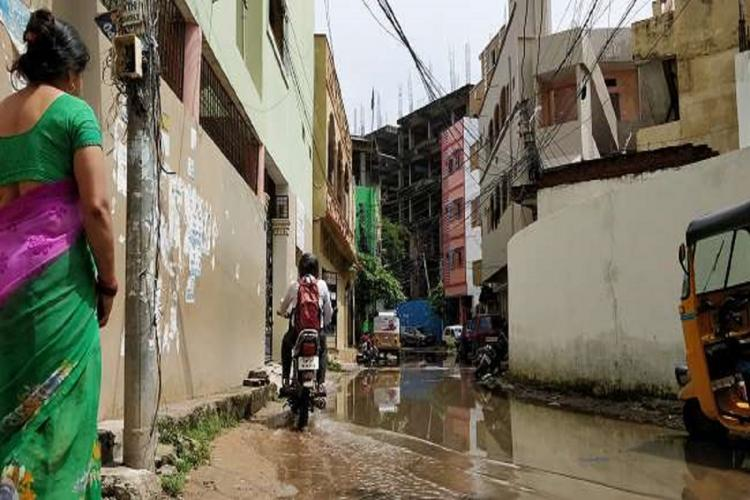 Six months after COVID19 pandemic as one drives through the narrow bylanes of the slum several To-let sign boards are visible