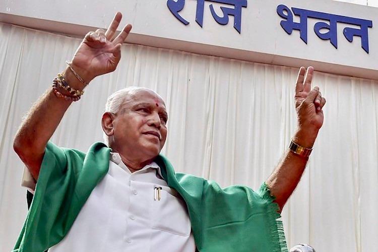 BS Yeddyurappa to be sworn in as Karnataka CM gets Governors nod