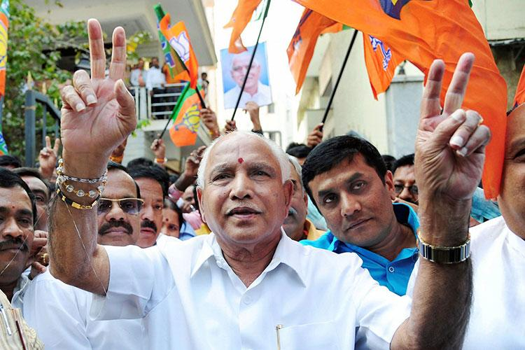 People have taught Congress befitting lesson in Karnataka BS Yeddyurappa