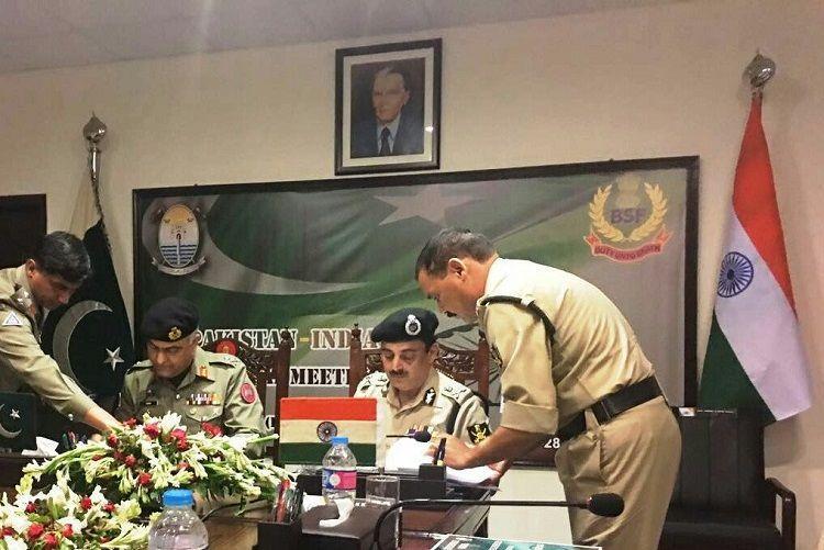 BSF-Pakistan Rangers hold border talks in Lahore