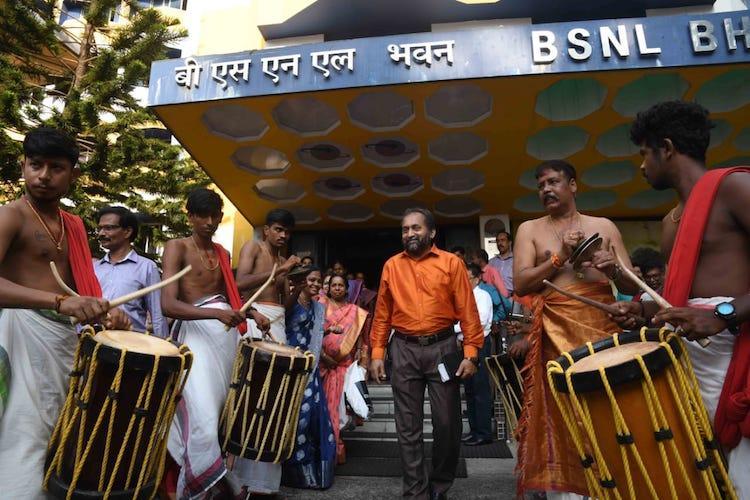 Over 4000 BSNL employees in Kerala end service through voluntary retirement scheme