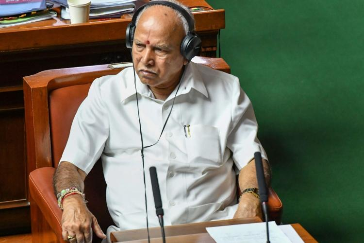 CM BS Yediyurappa in Assembly Session