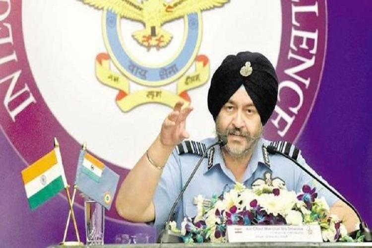 Air Force focuses on target does not count casualties Air Chief Marshal BS Dhanoa