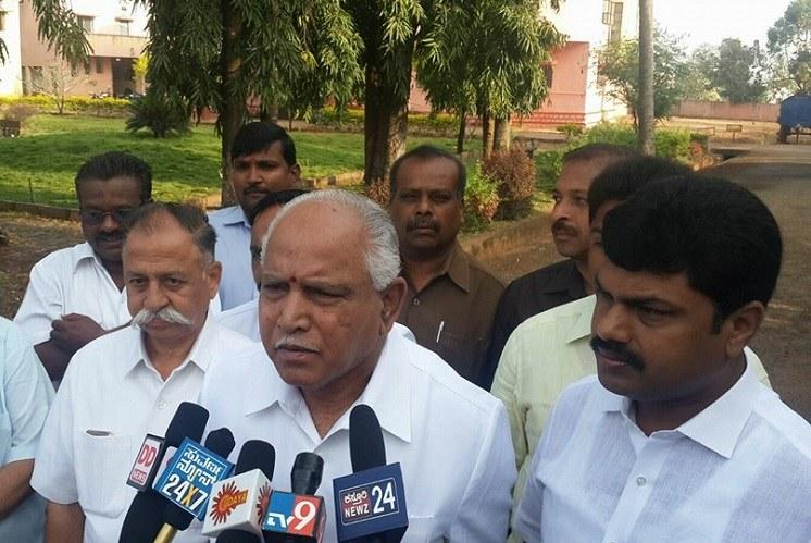 Is it appropriate for Yeddyurappa to make demands on who next Chief Secretary should be