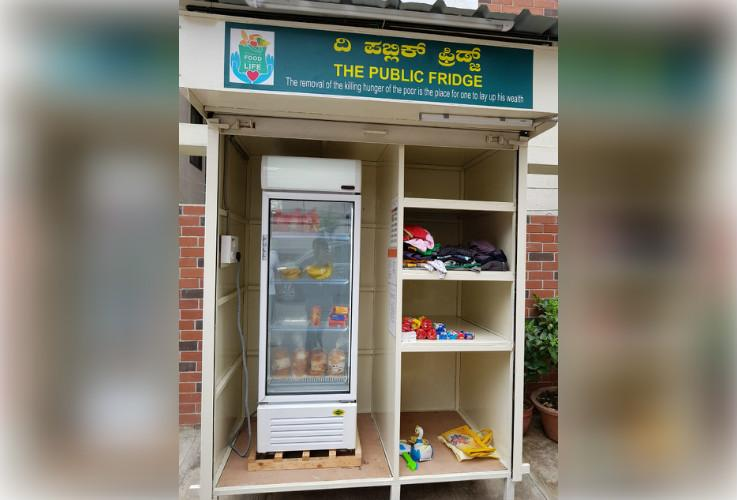 Food for needy free of cost Community fridge concept picks up in Bluru