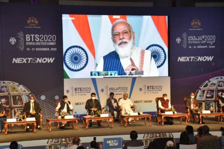 Inauguration ceremony of Bangalore Tech Summit