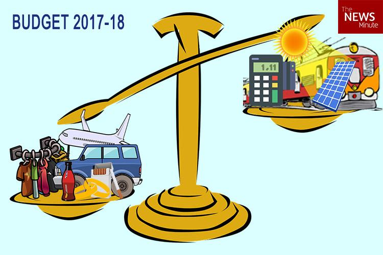 Budget 2017 Solar panels to get cheaper air travel readymade garments to be dearer
