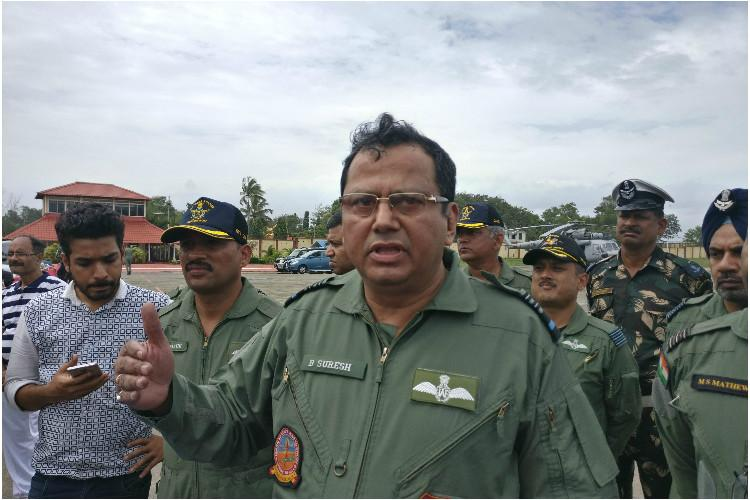 Will continue with ops till the last person is rescued Air Marshal B Suresh