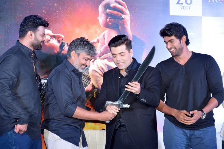 Baahubali director Rajamouli actors Rana and Prabhas to appear on Koffee with Karan