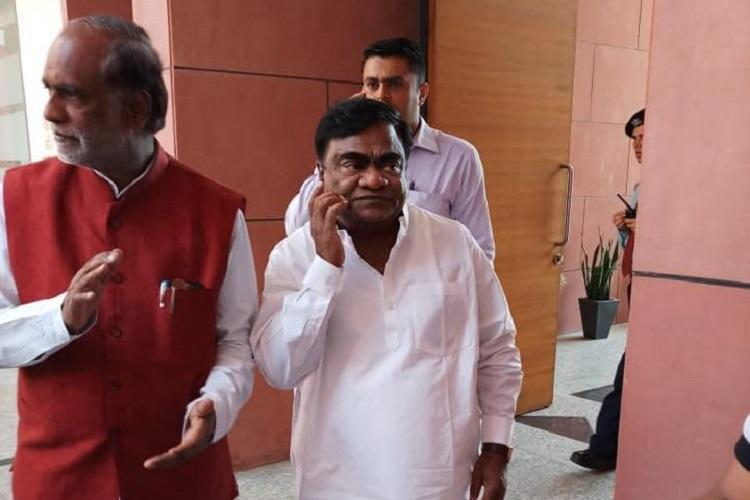 Denied TRS ticket actor-politician Babu Mohan joins BJP in Telangana