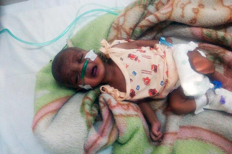 This 3-month-old baby is dying from a rare heart disease ...