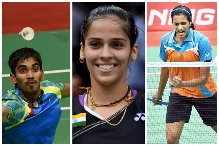 Shuttler Saina seeded fifth Sindhu Srikanth ninth seeds for Rio