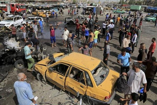 200 killed in ISIS-led bombings in Baghdad