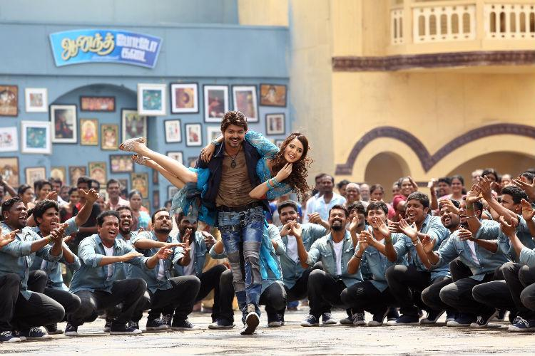 Bairavaa surpasses record of Vijays previous films