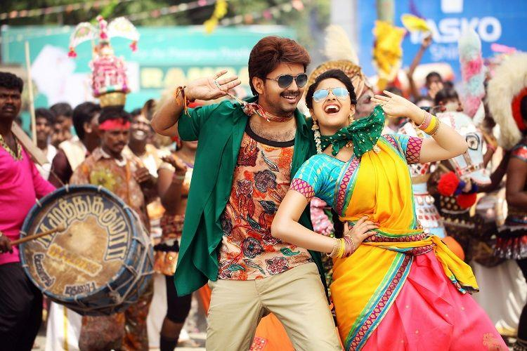 Review Bairavaa is a long and laborious film but at least its heroine is a surprise