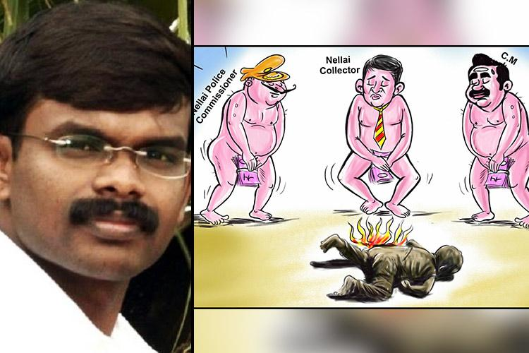 Cartoonist Balas arrest Why such a low tolerance for freedom of expression in TN