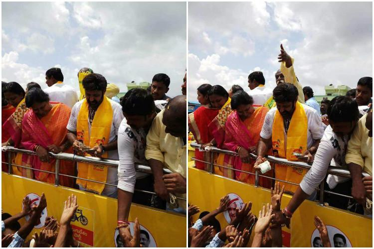 Nandyal bye-poll Hyd HC moved to take action against Balakrishna for distributing money