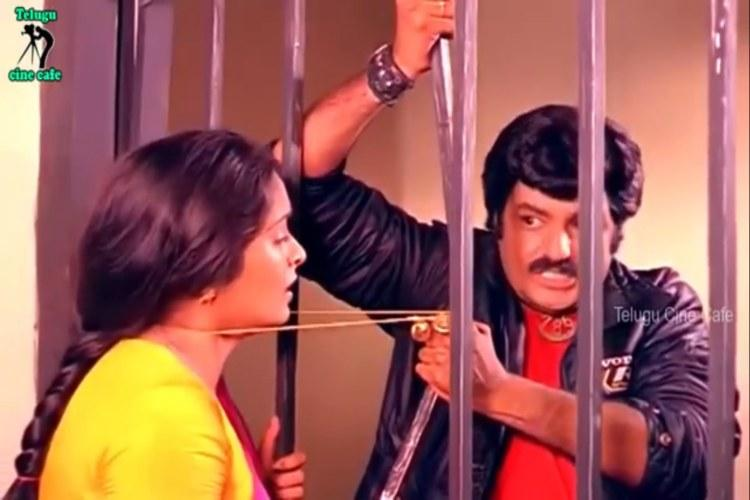 Seen Balayya tying thaali through prison bars Heres more on the viral clip