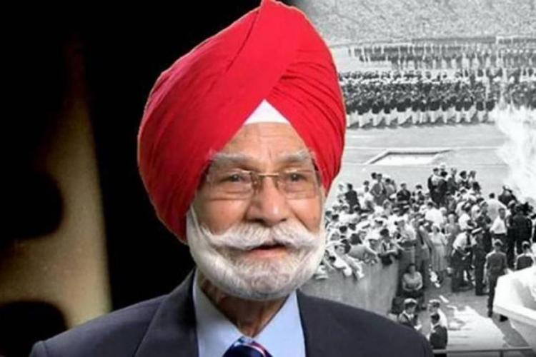 Former Indian hockey captain Balbir Singh Sr