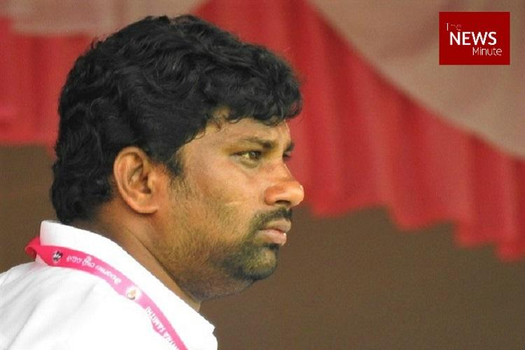 Upset at Chennur MLA being denied seat TRS worker immolates self at Balka Suman rally