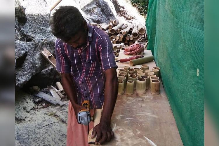 With plastic ban tribal village in Kerala brings back bamboo to its household