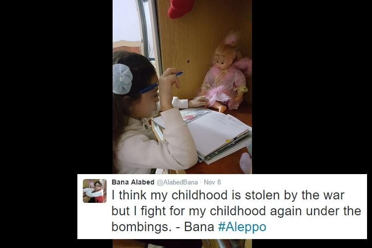 See war-torn Syria through the tweets of seven-year-old girl