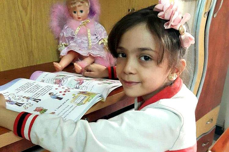 Syrian girl Bana Alabed the face of Aleppos suffering evacuated from the eastern city