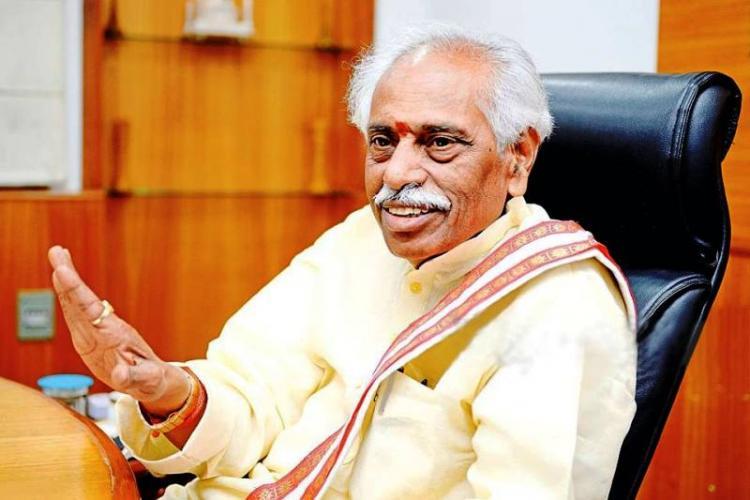 Bandaru Dattatreya slams Left Cong on JNU row refuses to speak on Rohith Vemula