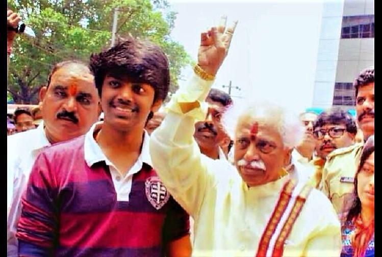 Former Union Minister Bandaru Dattatreyas 21-yr-old son dies of heart attack