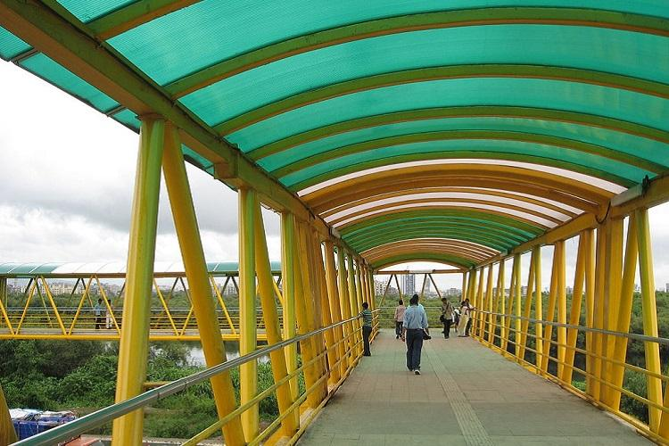 Bellandur skywalk to be built with CSR funds MP promises it will be up in 3 months